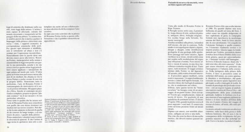 Rosanna Forino catalogo russia