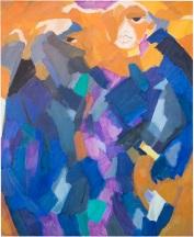 Rosanna Forino, 1979, Personaggi d'Egitto, 80x100, olio su tela