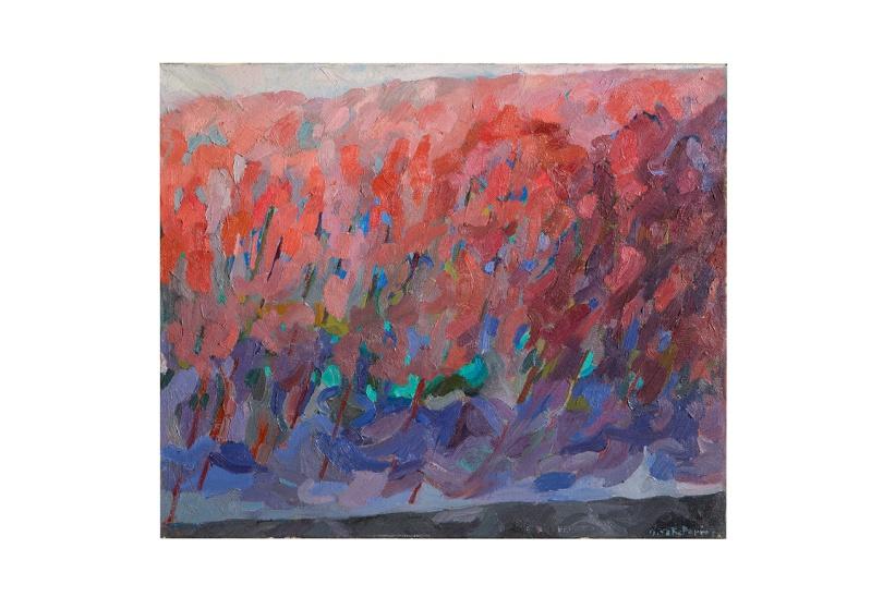 bosco-rosa-olio-su-tela-50x50-1976-rosanna-forino