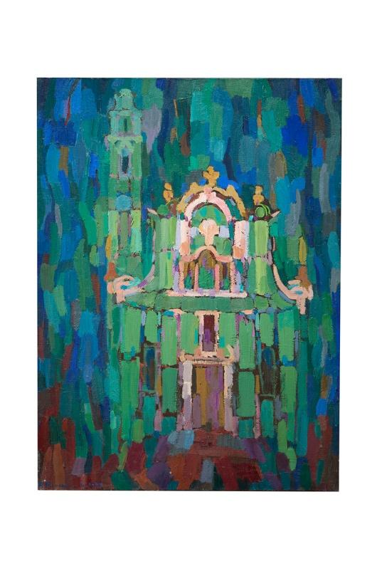 chiesa-ligure-olio-su-tela-50x70-1977-rosanna-forino