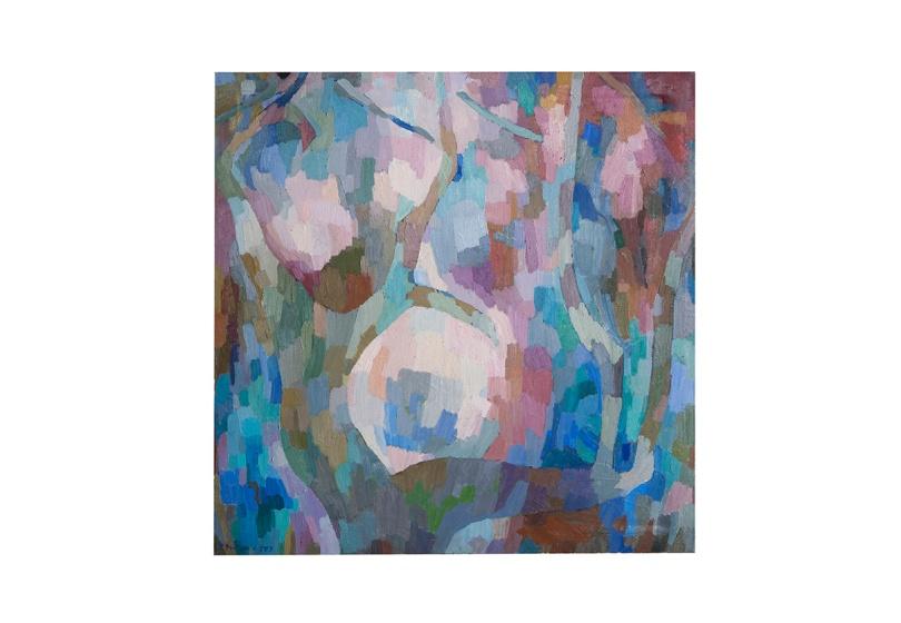 composizione-di-rami-80x80-1977-olio-su-tela-rosanna-forino