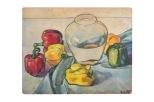 i-peperoni-olio-su-cartone-1970-rosanna-forino