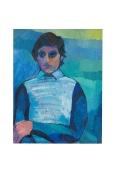 Il ragazzo buono, olio su tela, 1976 Rosanna Forino