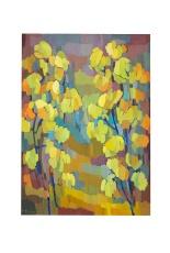 Le piante gialle, Olio su tela, 50x70 Rosanna Fornino