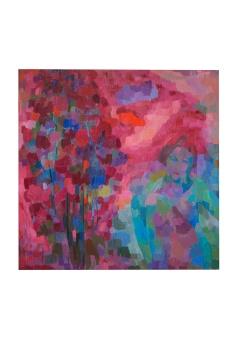 Personaggio inquietante, olio su tela, 1977 Rosanna Forino