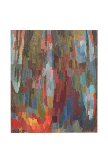 Sottobosco,olio sutavola, 1977 50x60 Rosanna Forino