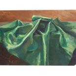 il-tessuto-verde-olio-su-cartone-1948-rosanna-forino