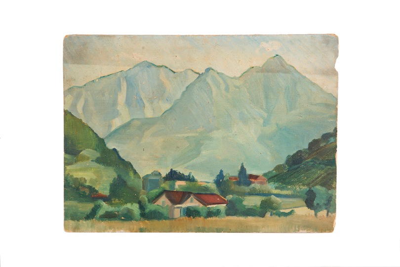 le-grigne-della-valbrona-49x36-olio-su-cartone-1949-rosanna-forino