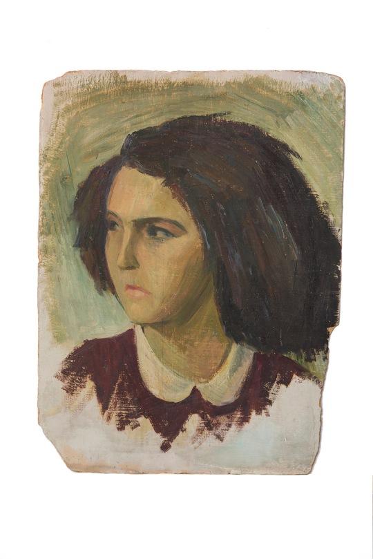 testa-di-ragazza-olio-su-cartone-40x50-1948-rosanna-forino