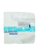 composizione 3 acrilici su carta indiana 50x50 - 2006 Rosanna Forino b