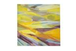 composizione gialla 1980 60x60 Rosanna Forino