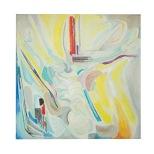 Composizione, olio su tela, 1982 Rosanna Forino