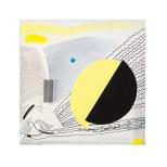 Eclisse - 40x40 - 1994 - acrilici -Rosanna forino