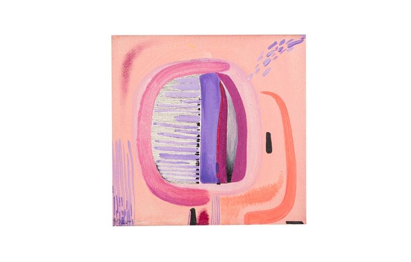 Esotico - 20x20 - 1988 - tecnica mista - Rosanna Forino