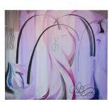 grande lontana immagine - 1989 - 125x110 - olio e inchiostri - rosanna forino