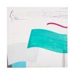 La sirena dell'oceano 100x100 Rosanna Forino 1999 acrilici e inchiostri b