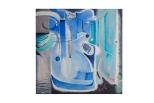 l'idolo 100x100 olio su tela Rosanna Fornino 1987 b