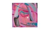 Meditazione - 1987 - 40x40 - olio e inchiostri - Rosanna Forino