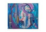 Memorie, olio su tela, 50x60 1985 Rosanna Forino
