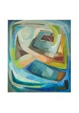 Occhio del ciclone, olio su tela, 1980 Rosanna Forino