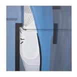 Personaggio inquietante 3 - 60x60 - acrilci - 1994 - Rosanna Forino
