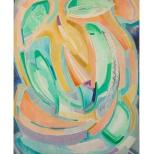 Sogno del mattino, olio su tela, 60x80 1986 Rosanna Forino