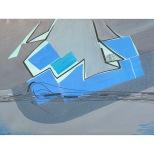 sospeso nel grigio - 1993 - acrilici e inchiostri - 50x70 - Rosanna Forino