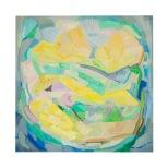 Vegetazione, olio su tavola, 70x70 Rosanna Forino2